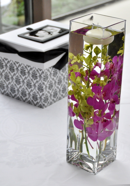 Cocktail Table Arrangement